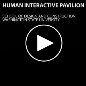 عکس - Interactive Pavilion Design Studio , Washington State University